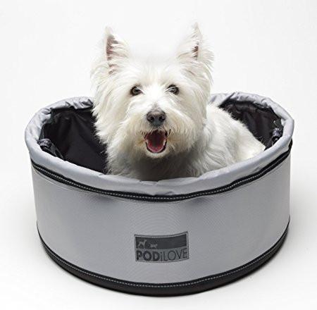 Hondenfietsmand Pod iLove zwart/grijs