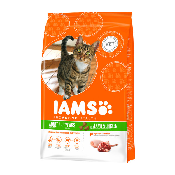 Iams Cat Adult lam 10 kg