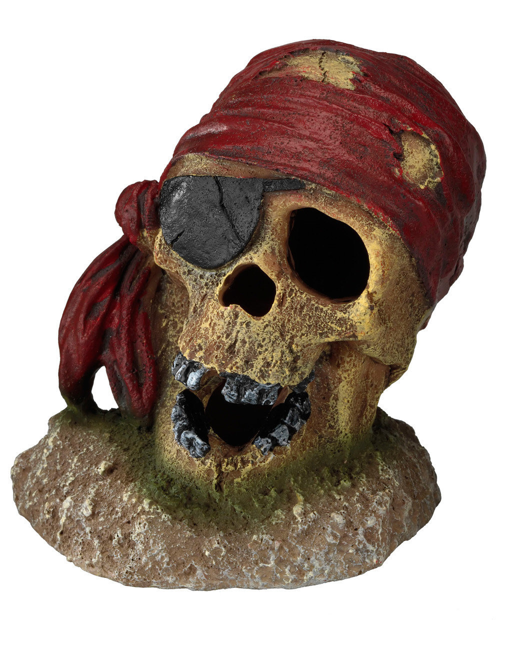 Aqua D'ella pirate skull eye-patch