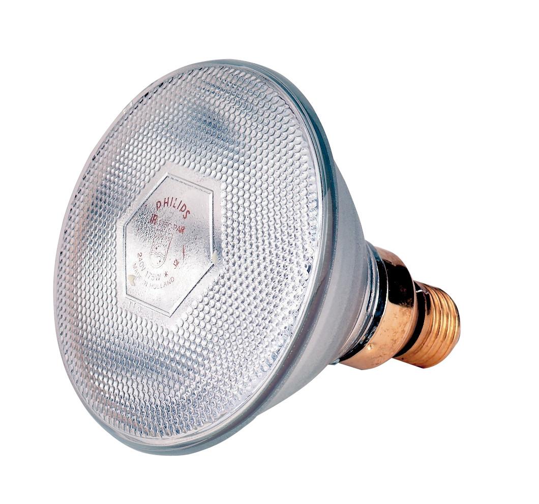 Lamp 175 W wit Philips spaar
