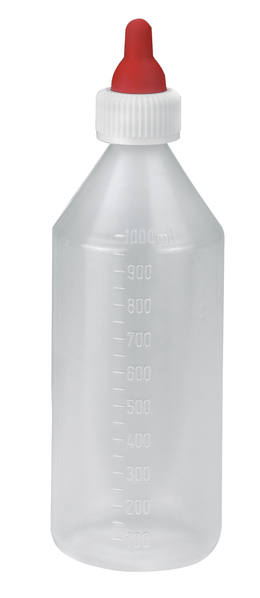 Lam/veulen speenfles flexi 1000 ml