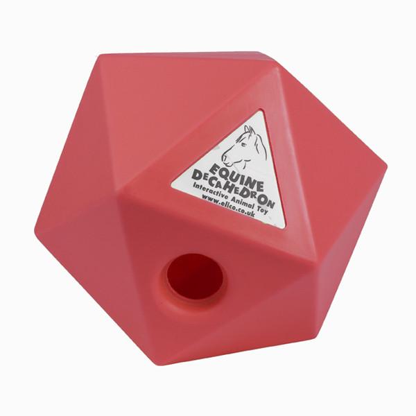 Decahedron traktatie cube blauw 25cm