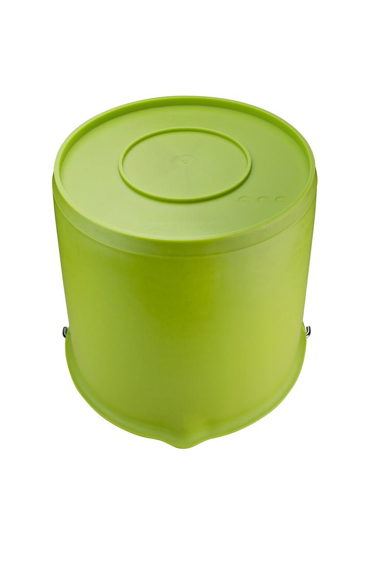 Emmer met schenktuit 15 ltr groen