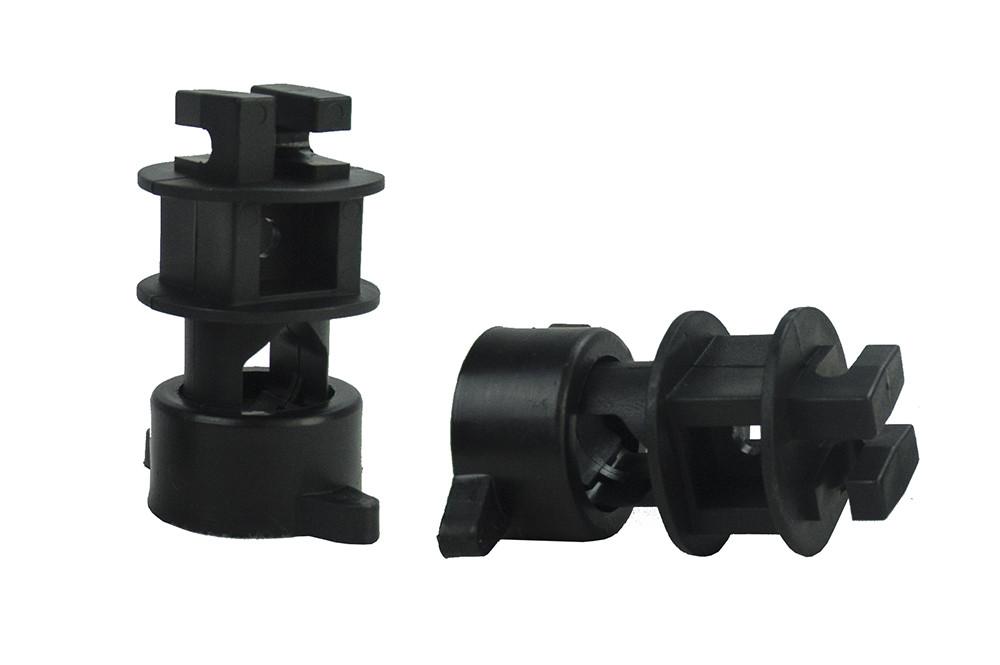 Isolator Schroef voor rondpaal ø 14mm, voor draad