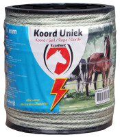 Koord Excellent Uniek 200 m / 6 mm  wit / groen thumb