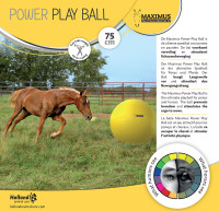 Maximus Power Play Ball  thumb