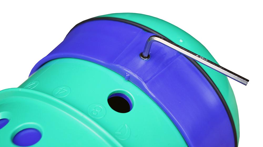 Pipolino voerdispenser Paard/Pony > 250 kg groen/blauw