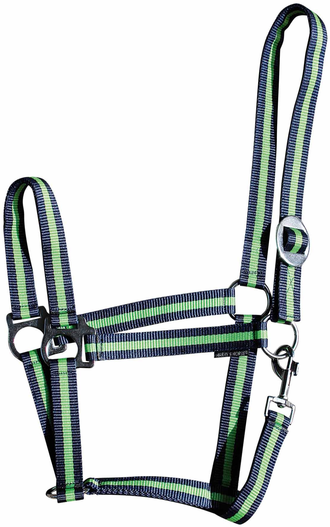 Harry's Horse halster Economy navy/lime