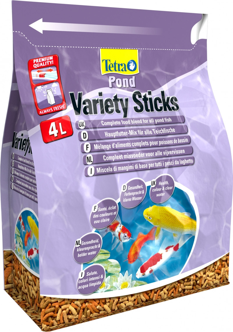 Tetra Pond Variety Sticks 4 ltr