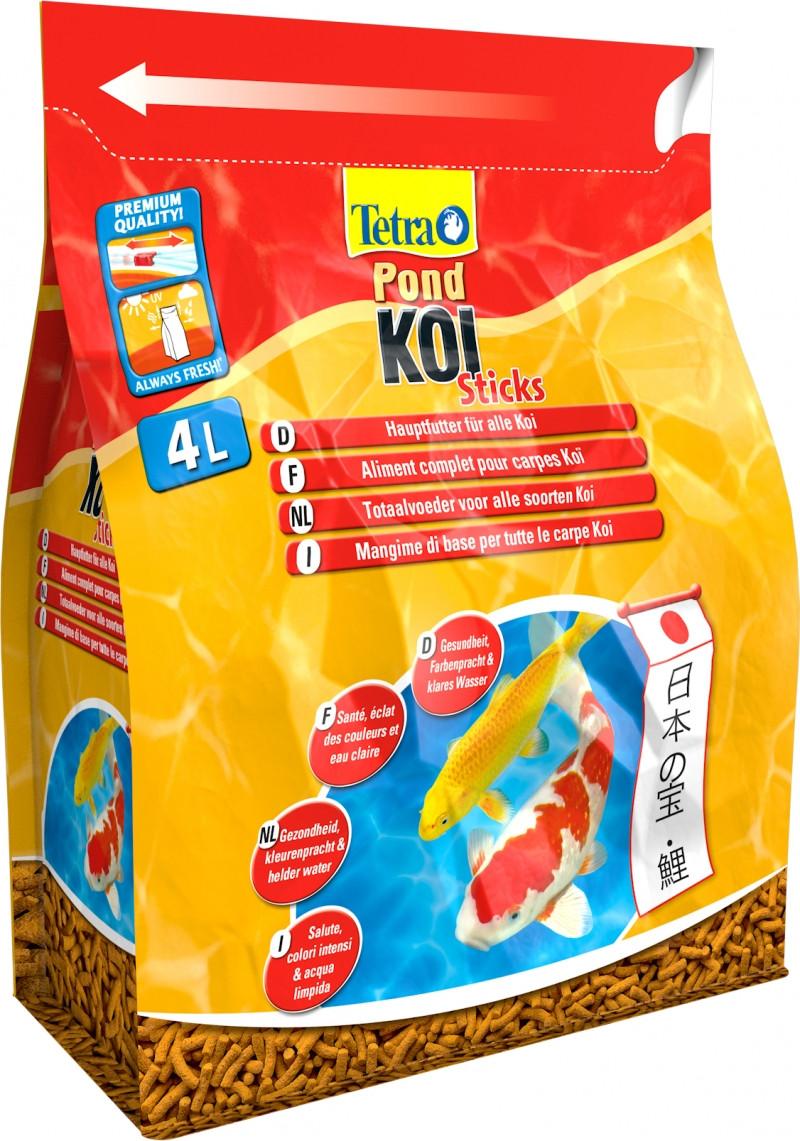 Tetra Pond Koi Sticks <br>4 ltr