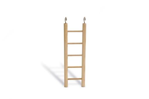 Beeztees Houten ladder met 5 treden.