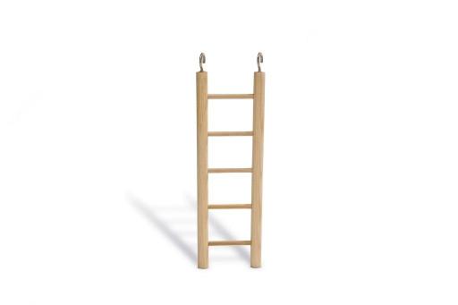 Beeztees Houten ladder met 6 treden.