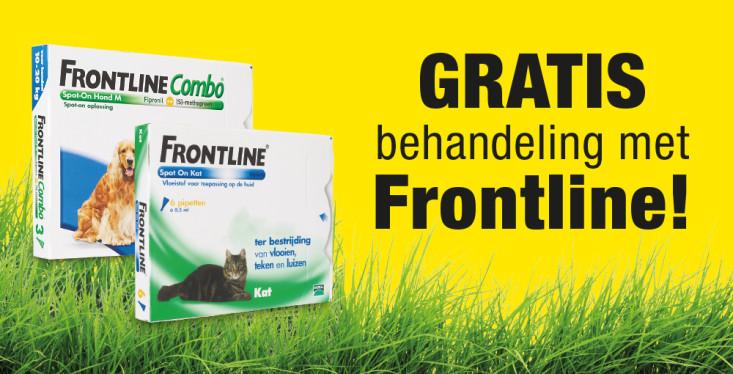 2 mei: Gratis behandeling met Frontline