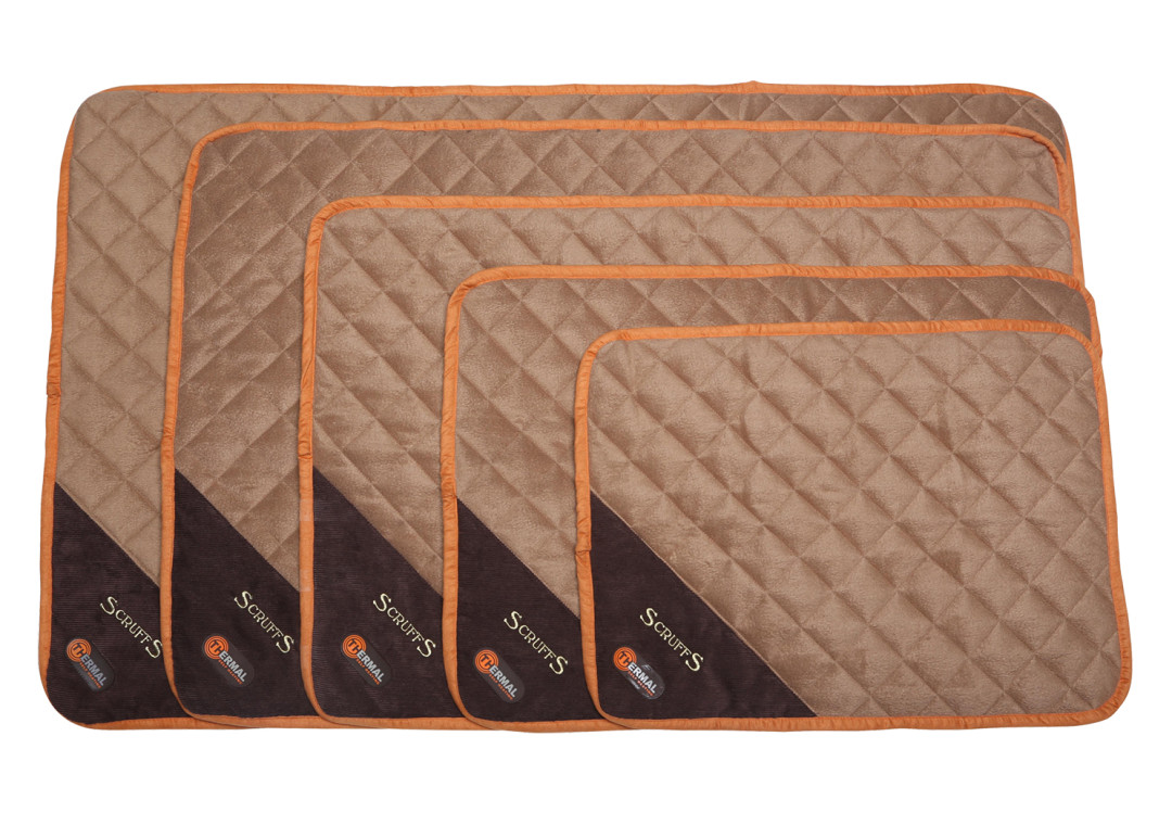 Scruffs Thermal Mat brown