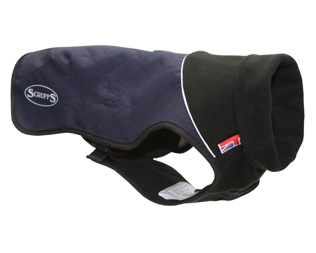 Scruffs Thermal Dog Coat Navy Blue