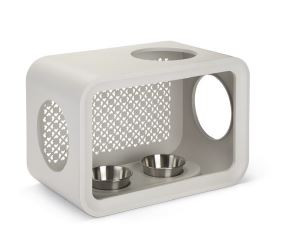 Beeztees Cat Cube Dinner dune grey