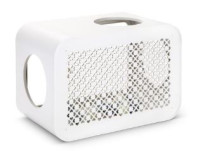 Beeztees Cat Cube Play angora white thumb