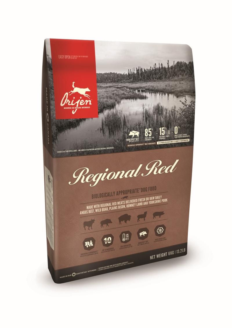 Orijen hondenvoer Regional Red 11,4 kg