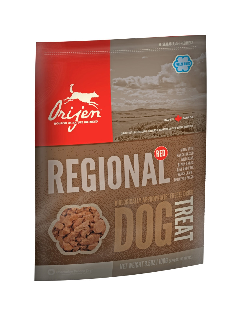 Orijen Freeze-Dried Dog Treats Regional Red 100 gr