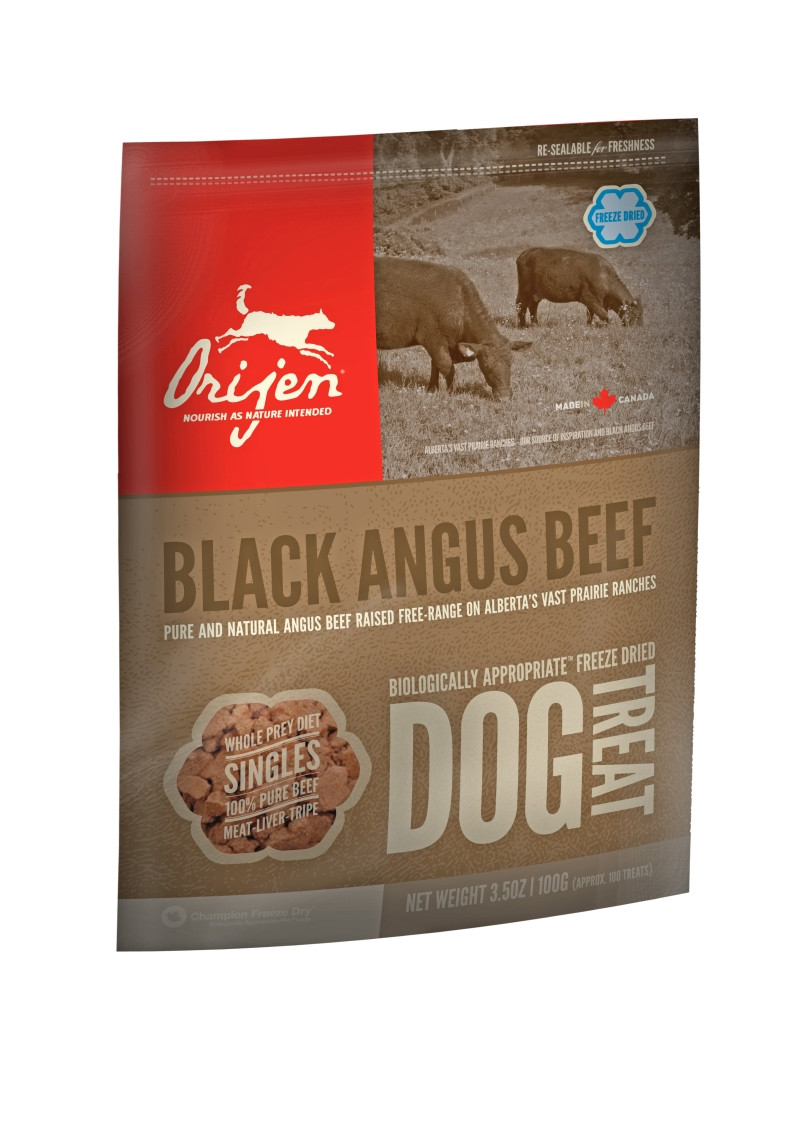 Orijen Freeze-Dried Dog Treats Angus Beef 100 gr