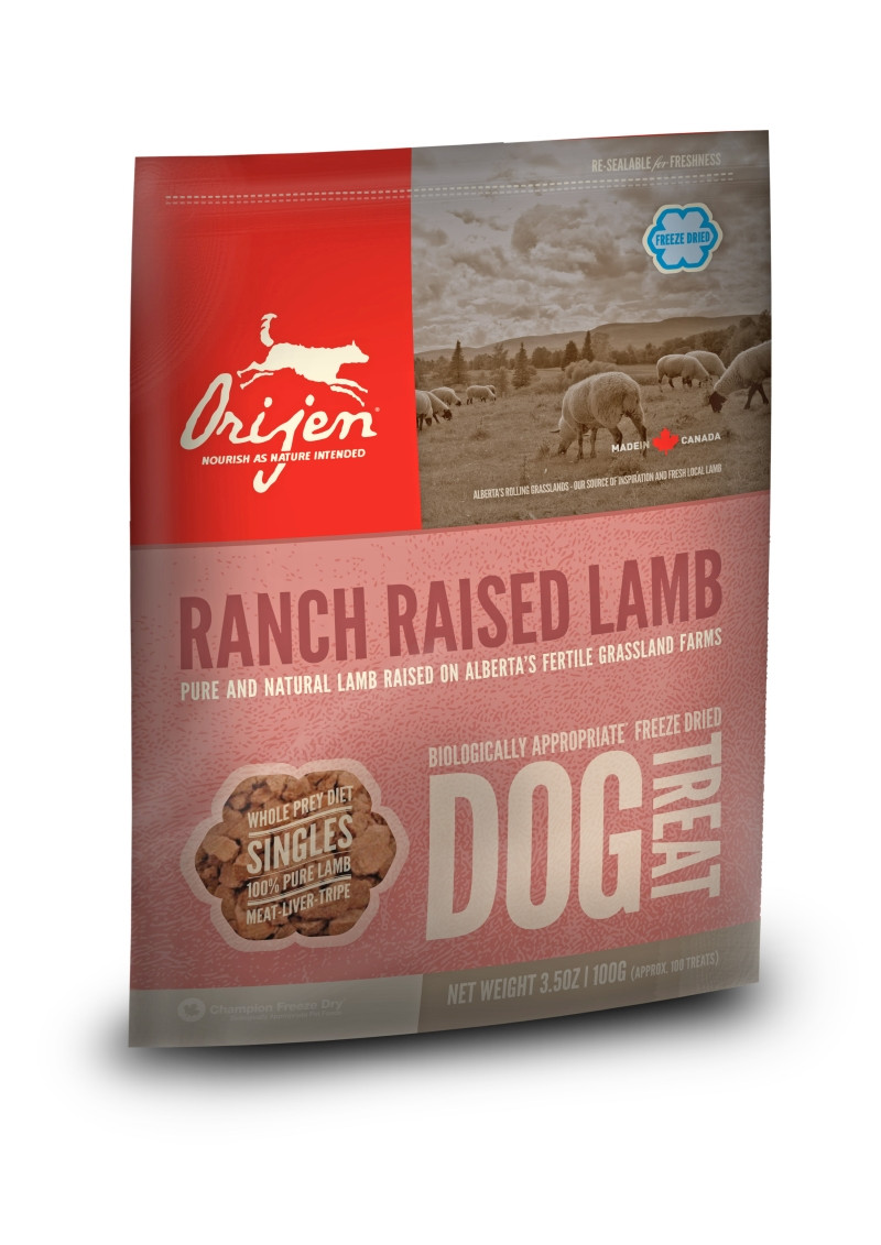 Orijen Freeze-Dried Dog Treats Alberta Lamb 100 gr
