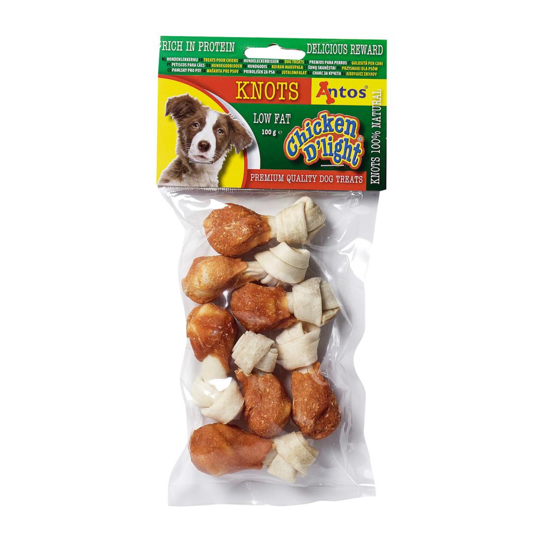 Antos Chicken D'Light Knots 100 gram