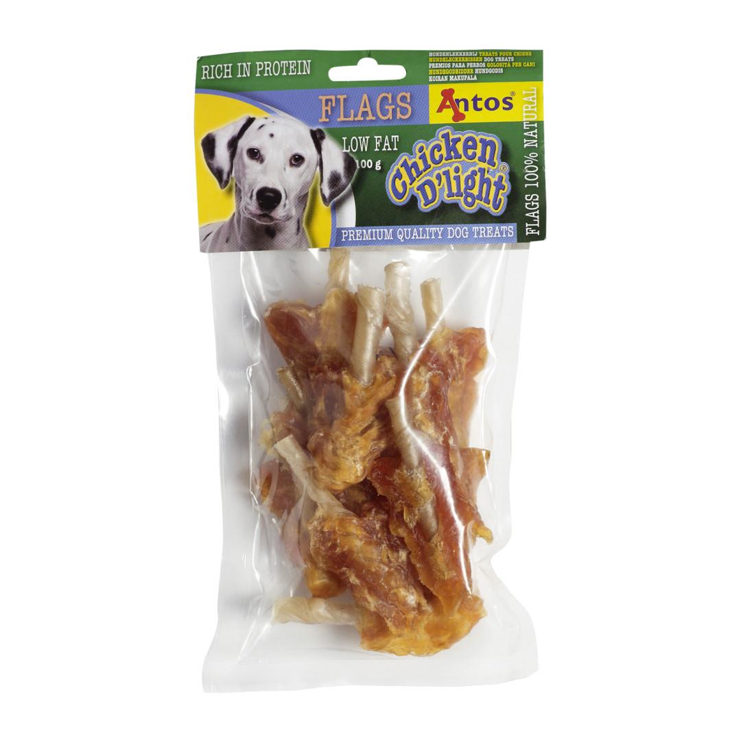 Antos Chicken D'Light Flags 100 gram
