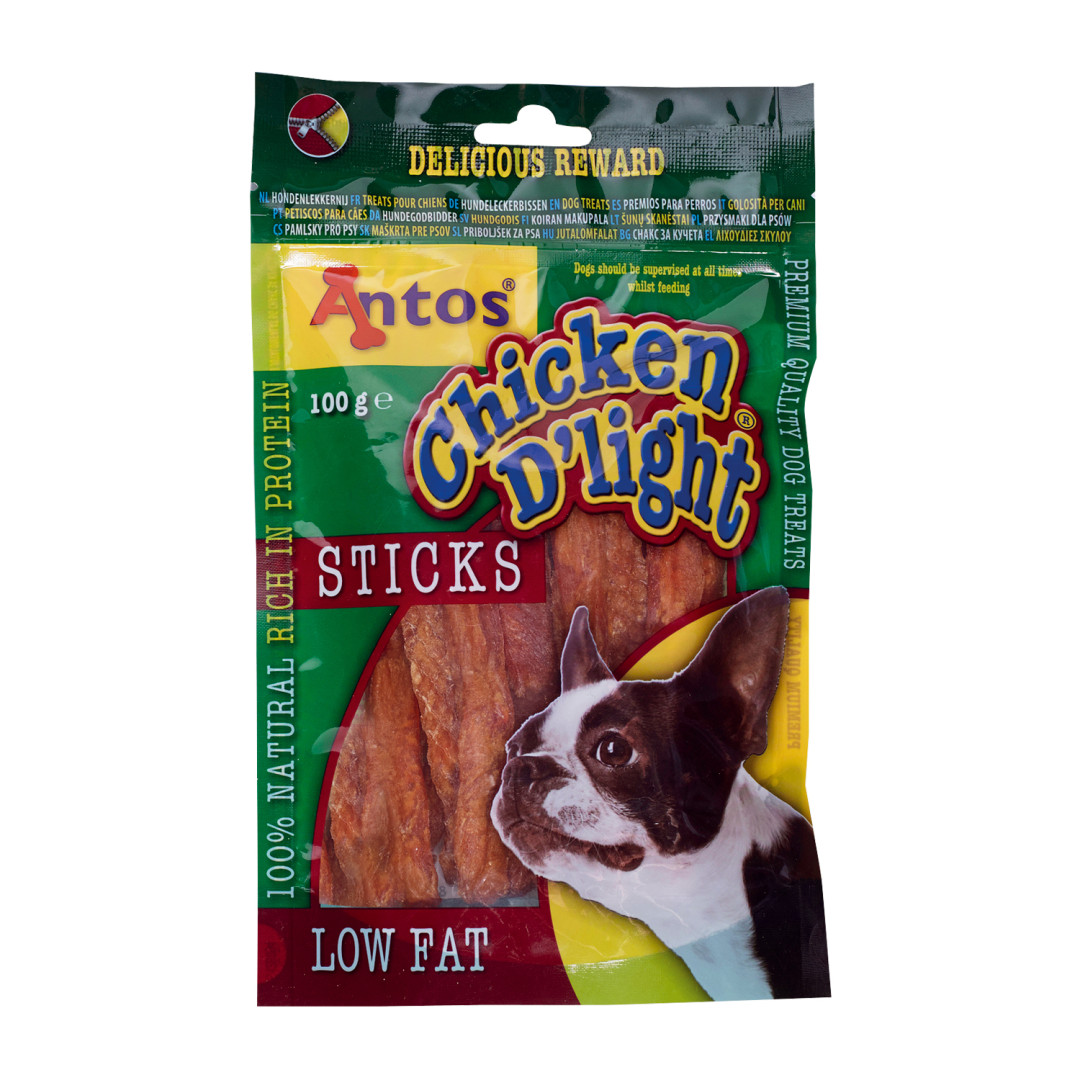 Antos Chicken D'Light Sticks 100 gram