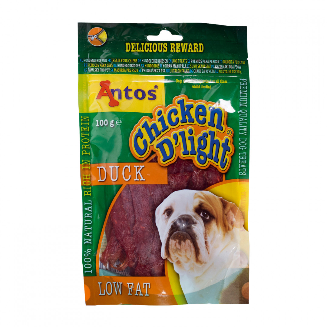 Antos Chicken D'Light Duck 100 gram