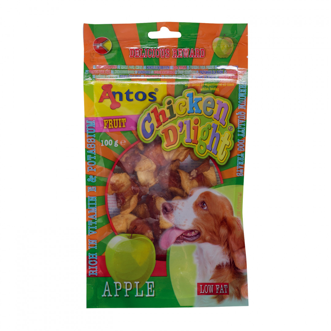 Antos Chicken D'Light Apple 100 gram