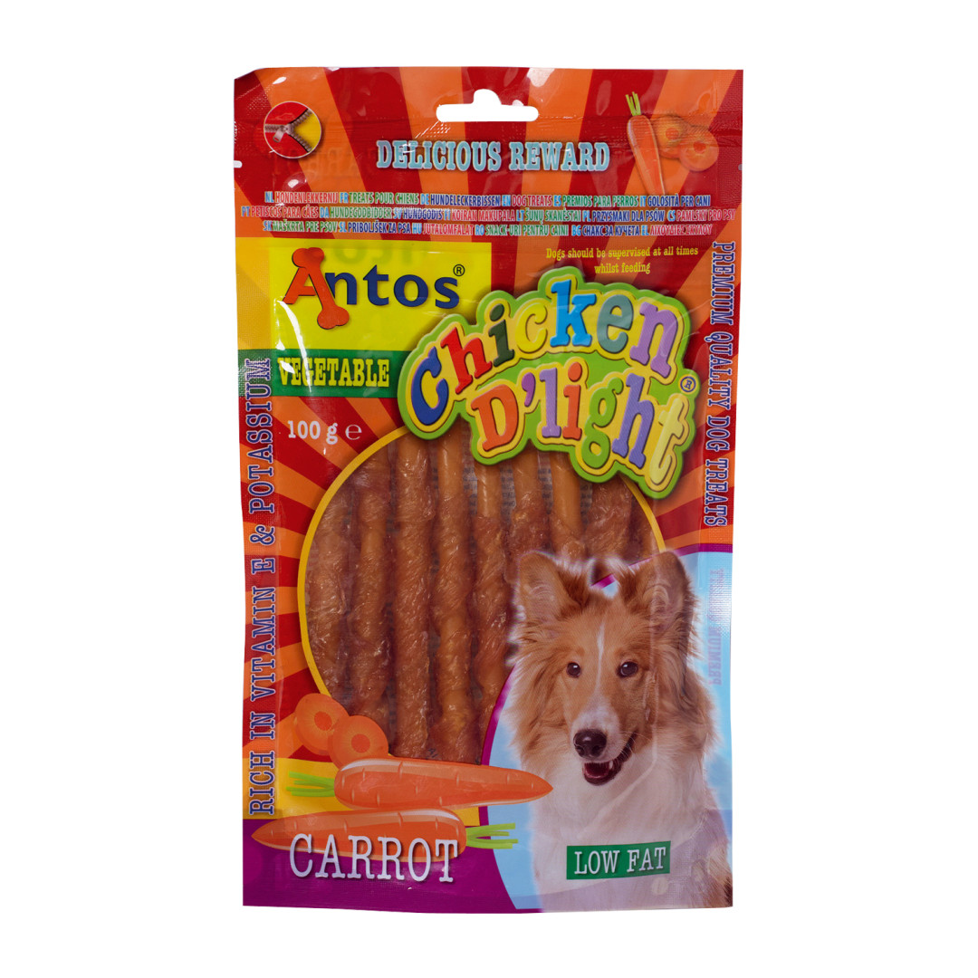 Antos Chicken D'Light Carrot 100 gram