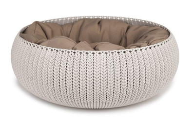 Curver Cozy pet bed créme