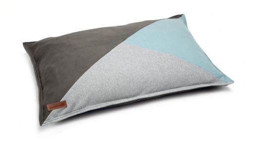 Beeztees loungekussen Teko grijs/blauw