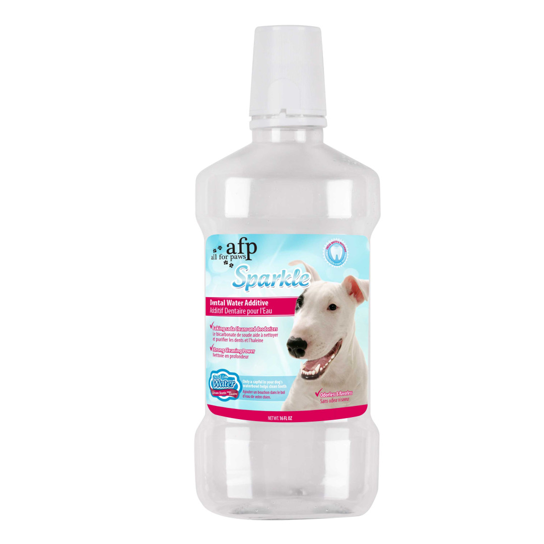 All for Paws Sparkle Dental Water Additive (475 ml)