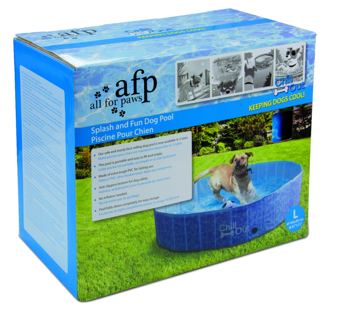 All for Paws Chill Out Splash and fun Dog Pool S