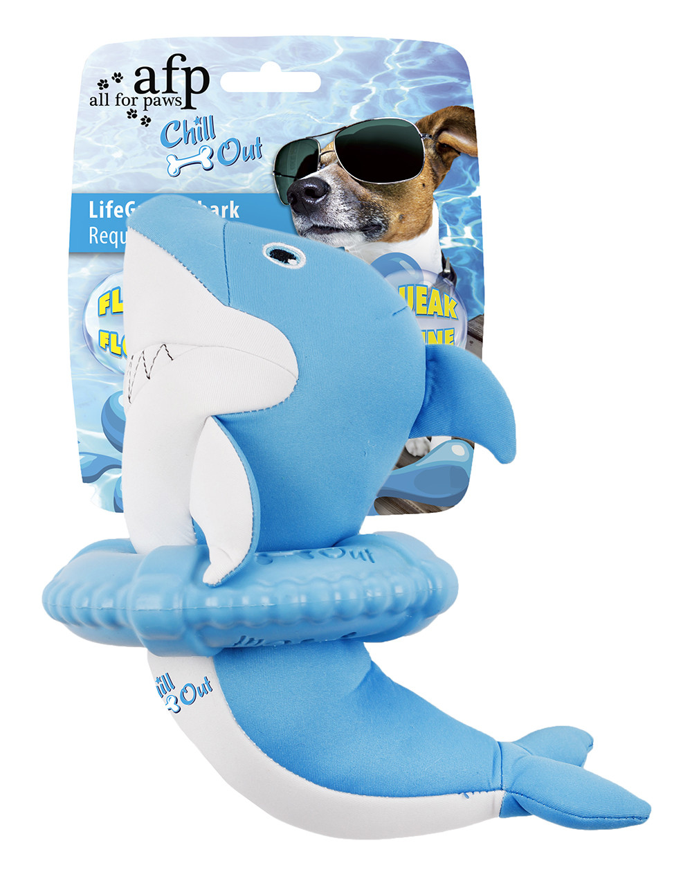 All for Paws Chill Out LifeGuard Shark