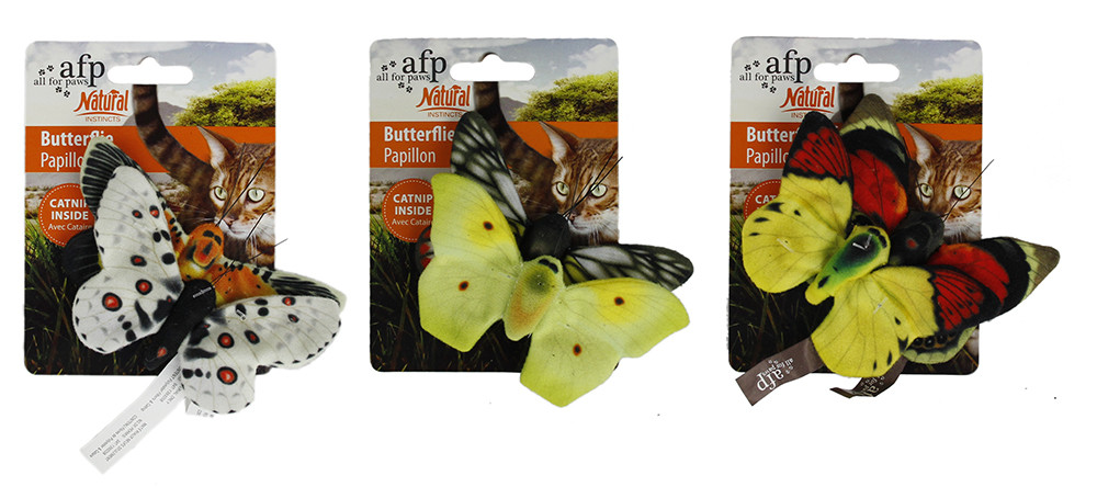 All for Paws Natural Butterflies Double Pack