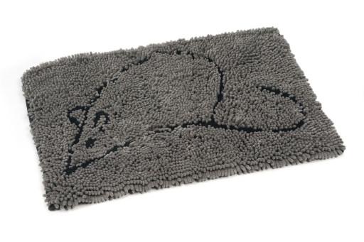Dirty Cat droogloopmat grijs