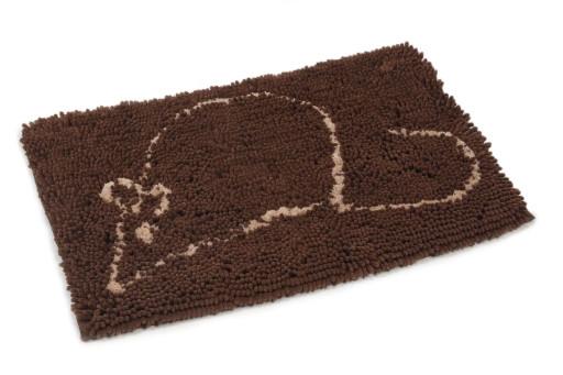 Dirty Cat droogloopmat bruin
