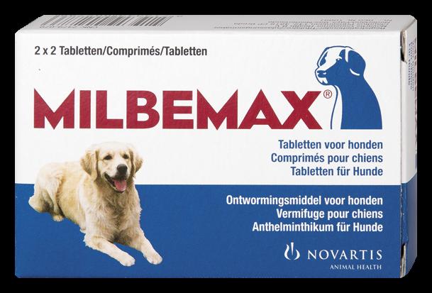 Milbemax tabletten hond 10 - 75 kg 4 st