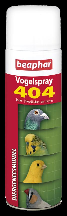 Beaphar 404-Vogelspray 500 ml