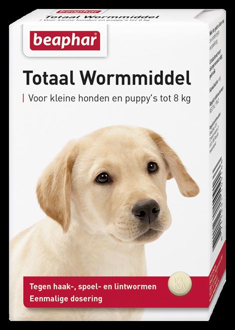Beaphar Wormmiddel Totaal kleine hond & puppy's 6 st