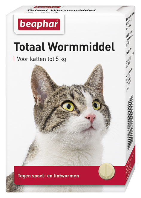 Beaphar Wormmiddel Totaal kat 10 st