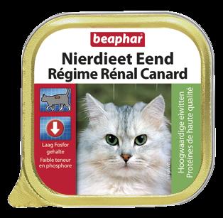 Beaphar kattenvoer Nierdieet Eend 100 gr