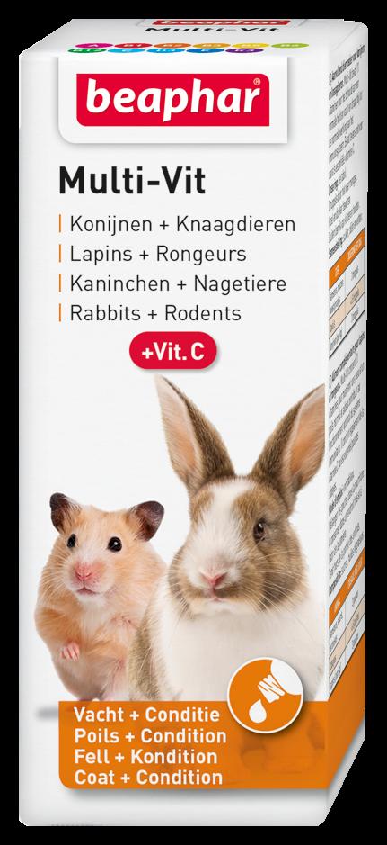 Beaphar Multi-Vit konijnen + knaagdieren 50 ml