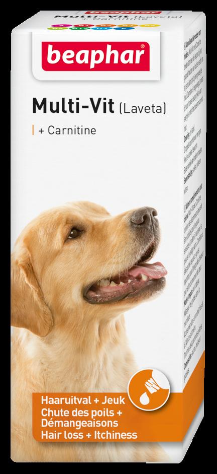 Beaphar Multi-Vit hond met carnitine 50  ml