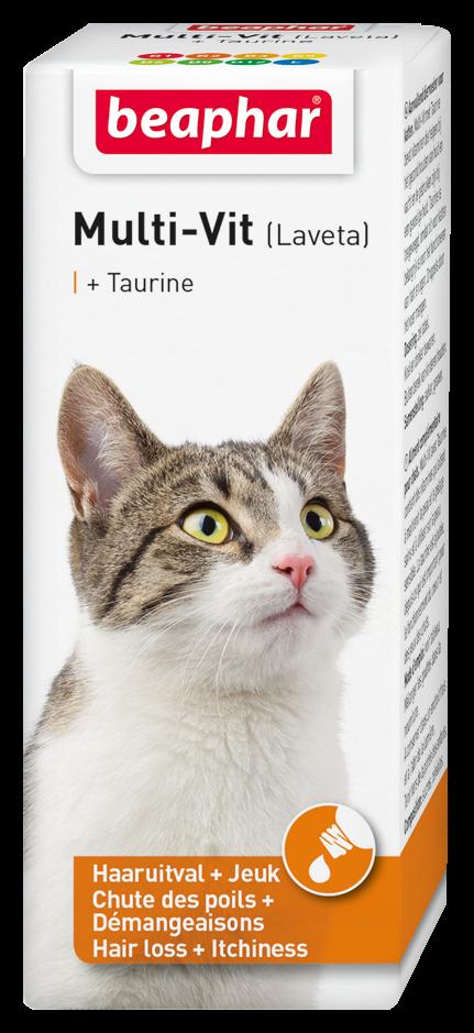 Beaphar Multi-Vit kat met taurine 50 ml