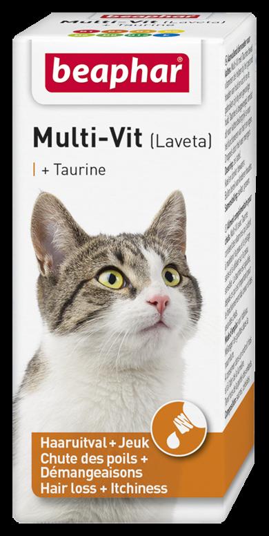 Beaphar Multi-Vit kat met taurine 20 ml