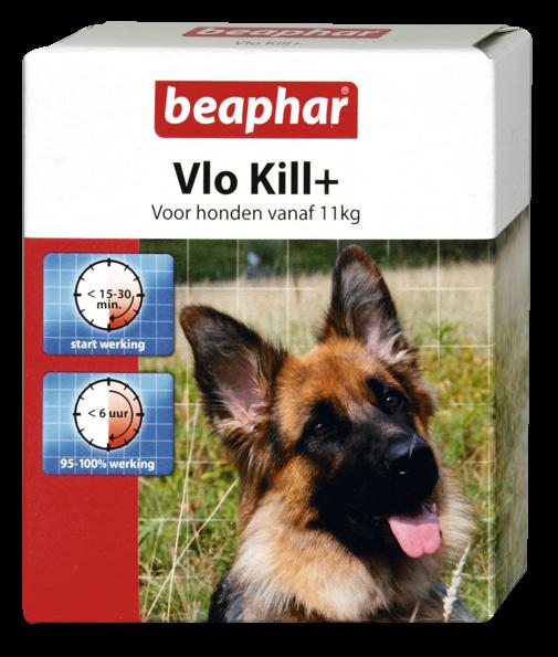 Beaphar Vlo Kill+ hond vanaf 11 kg 6 st