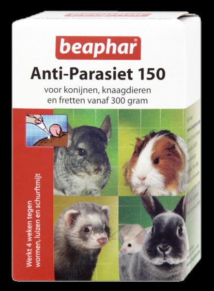 Beaphar Anti-Parasiet 150 knaagdieren vanaf 300 gr
